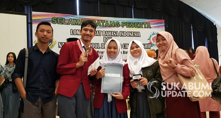 SMA Doa Bangsa Harumkan Kabupaten Sukabumi di Ajang LDBI Tingkat Jabar